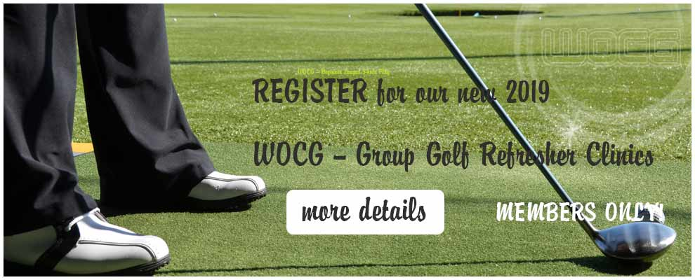 WOCG group golf clinics in Tampa Florida